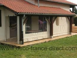 terrasse transparente bâche sur mesure pour terrasse