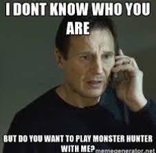 Hunter Meme - one meme to describe amino and discord monster hunter amino