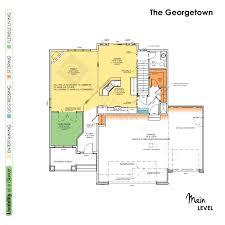 Georgetown Floor Plan The Georgetown U2013 Heritage Homes Fargo Moorhead Custom Home Builder