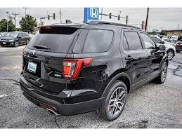 pre owned ford explorer sport pre owned 2017 ford explorer sport 4wd suv in amarillo j4484