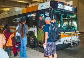 Hawaii travel bus images Daniel k inouye international airport the bus jpg