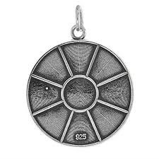 new orleans water meter necklace sterling silver new orleans water meter manhole cover charm