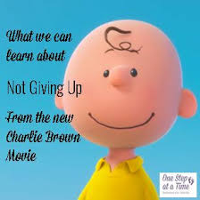 what we can learn about not giving up from the new charlie brown