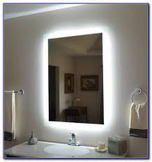 Bathroom Mirror With Tv by Lighted Bathroom Mirror With Tv Bathroom Home Decorating Ideas