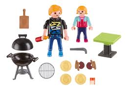backyard barbecue carry case 5649 playmobil usa