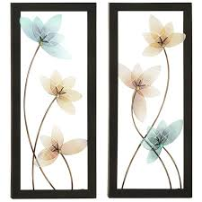 Metal Flower Wall Decor - large metal flower wall decor decorative flowers