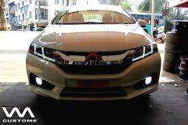 custom honda custom honda city by vm customs front indian autos blog
