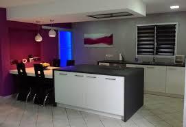 couleur de mur pour cuisine couleur tendance cuisine et salon pour une deco peinture fashion sur