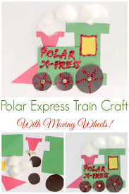 polar express train craft train crafts polar express train and