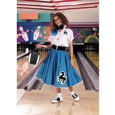 poodle skirt halloween costume complete poodle skirt turquoise u0026 white costume