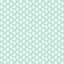 pretty polka dots in mint fabric thepinkhome spoonflower