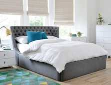 fabric beds contemporary bedroom furniture from dwell