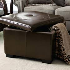 Brown Ottoman Chair Awesome Black Ottoman Coffee Table Brown Leather Ottoman