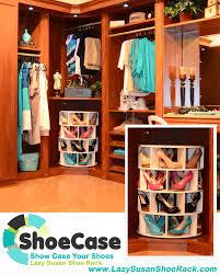 lazy susan shoe rack u201cshoecase u201d changing the way you organize your