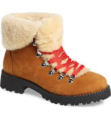 womens boots j crew j crew nordic genuine shearling cuff winter boot nordstrom