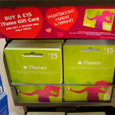 half price gift cards itunes gift cards buy one get one half price itunes gift card