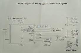 universal central locking kit wiring diagram wiring diagram