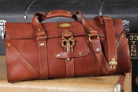 leather travel bags images Colonel littleton grip no 1 leather travel bag tools and toys jpg