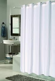 Peva Shower Curtain Liner Bathroom Hospitality Shower Curtains Peva Liner Hookless