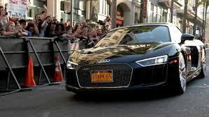 Audi R8 Blackbird - yep that u0027s spider man on top of the new audi a8 limo car news