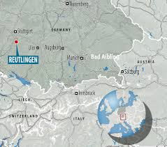 Map Of Stuttgart Germany by Syrian Refugee Kills Woman And Injures Others With Machete In