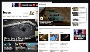review features news and magazine joomla template ja focus