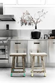 best ideas about stainless steel kitchen cabinets pinterest this modern industrial kitchen awesome hkliving mises scA par paulina arcklin collection