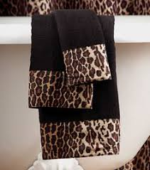 Cheetah Print Bathroom by Hmm Thinking About Redoing My Guest Bathroom Your Heart Is My