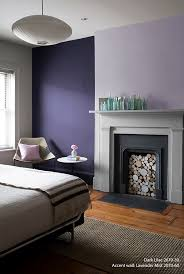 Perfectly Purple Bedroom Wall Color Dark Lilac Accent Wall - Bedroom accent wall colors