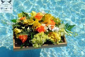 wedding flowers jamaica luxury destination weddings in jamaica floating raft of tropical