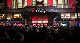 stage black friday sale crowd storms macy u0027s new york store in black friday shopping craze
