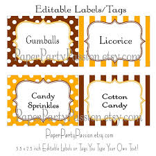 Candy Labels For Candy Buffet by 81 Best Sweet Desserts Fair Carnival Circus Images On Pinterest