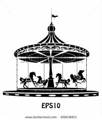 merry go round coloring pages merry go round stock images royalty free images u0026 vectors