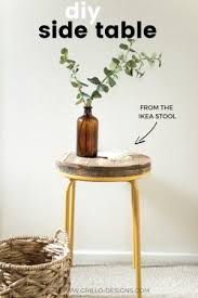 How To Make A Wood End Table by How To Make A Wooden Pallet Side Table U2022 Grillo Designs