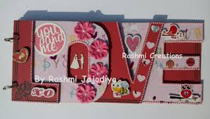 personalized scrapbook albums album for husband chipboard words album by rashmi