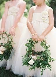 flower girl charms best 25 flower girl basket ideas on flower girl hair
