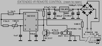ir remote control extension schematics
