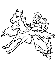 fantasy unicorn coloring pages for kids coloringstar