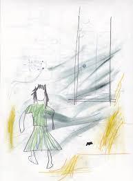 crude drawings scenes literature vice