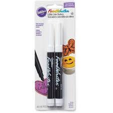 foodwriter black edible markers wilton