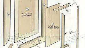 Cabinet Door Plans Woodworking Door Plans Woodworking Making Raised Panel Doors Cabinet Door