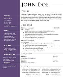 Openoffice Business Card Template Open Office Resume Template Resume Templates For Openoffice