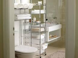 stylish small bathroom with storage pertaining to interior