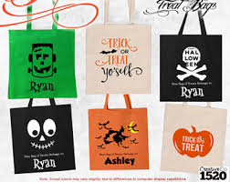 trick or treat bags trick or treat bag etsy