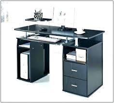 Computer Desk Small Glass Computer Desk Small Corner Metal Black Ikea Interque Co