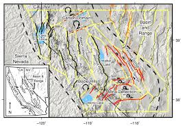 Fault Lines United States Map by Earthquake Report Nevada Jay Patton Online