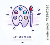 vector palette and brushes set 04 vector other free download