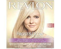 hair frosting for dark hair revlon frost glow by colorsilk salon highlighting kit ammonia