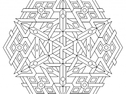 vibrant creative geometric coloring pages 6 plain ideas free