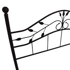 Bed Frame Metal Queen by 67 Off Metal Queen Size Leaf Design Bed Frame Beds